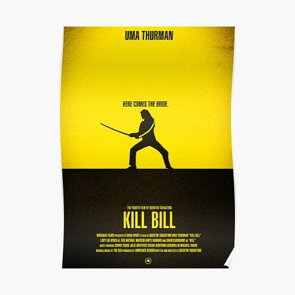 """Movie Poster - """"KILL BILL - Vol.1"""" Poster"""