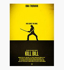 "Movie Poster - ""KILL BILL - Vol.1"" Photographic Print"