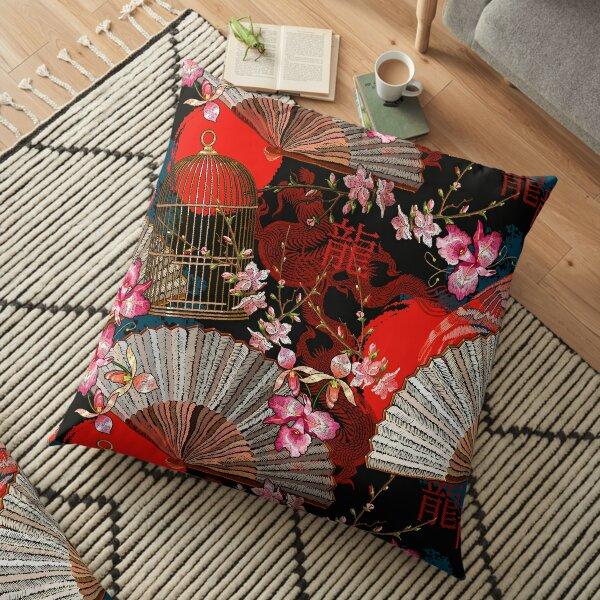 Oriental Floor Pillow