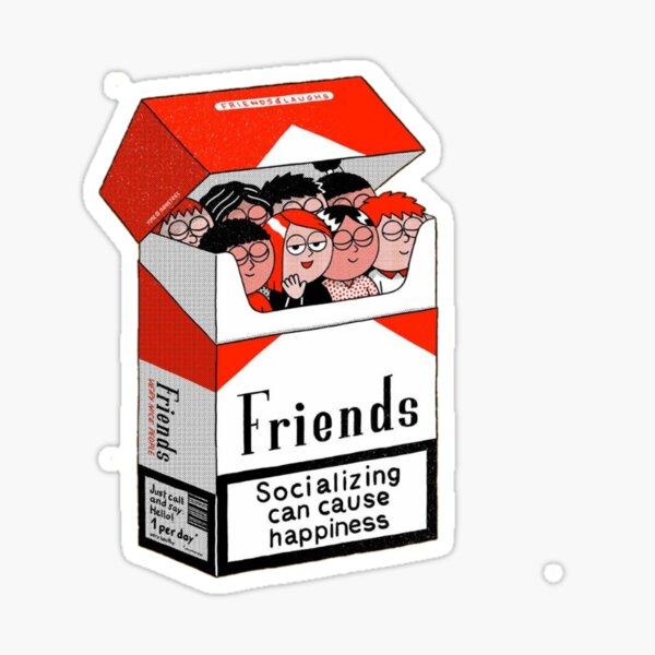 El mejor regalo para un amigo Pegatina