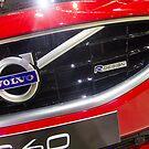 Volvo S60 T6 R-Design Logo [ Print & iPad / iPod / iPhone Case ] by Mauricio Santana