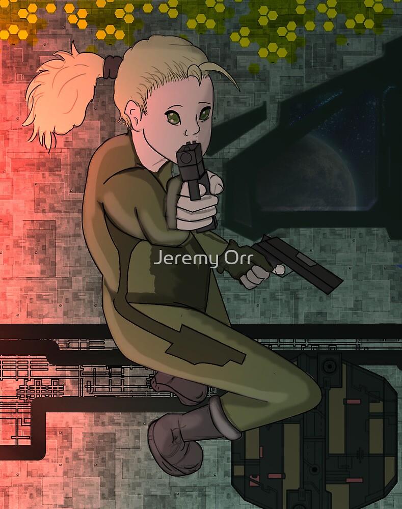 Space Gunslinger by Jeremy Orr