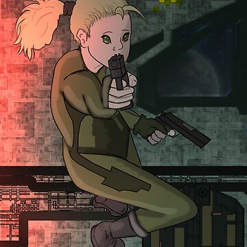 Space Gunslinger by itwirlchucks