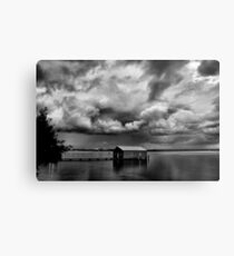 Under a Cloudy Sky Metal Print