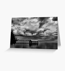 Under a Cloudy Sky Greeting Card