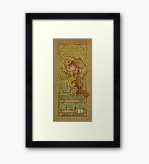 Ionic Asterion Framed Print