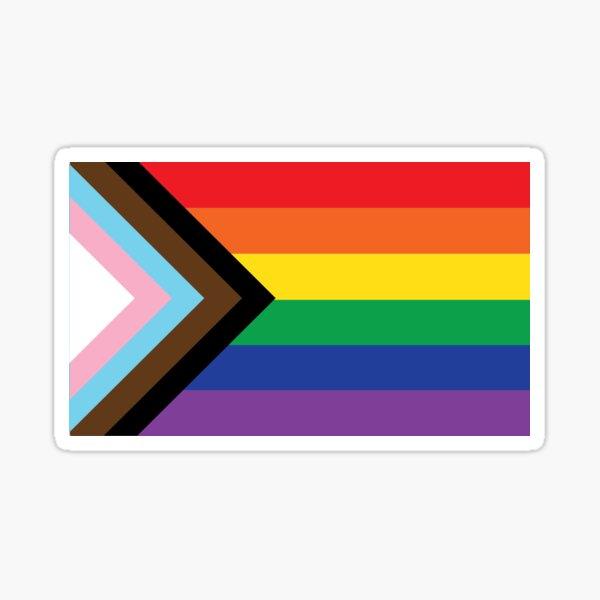 RainbowReboot Pride Flag Sticker