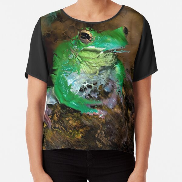Fractured Spring 4 Chiffon Top