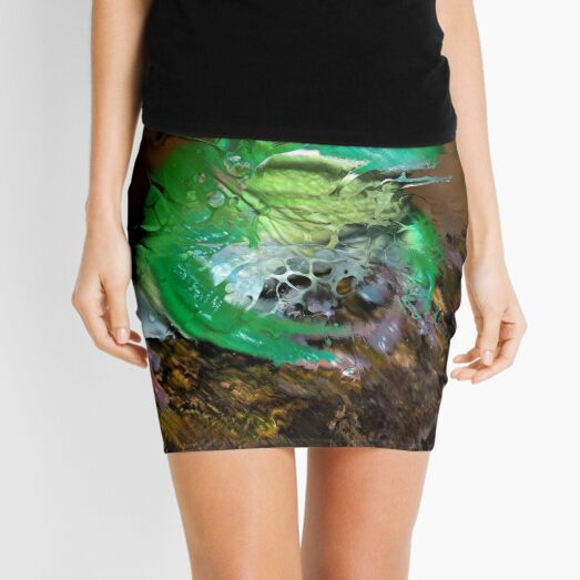 Fractured Spring 4 Mini Skirt