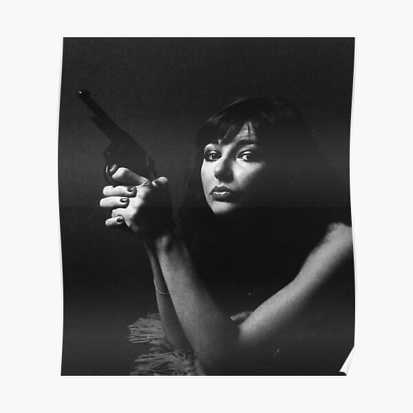 Kate with a gun Poster