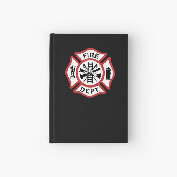 Firefighter Maltese Cross - Firefighter Gifts for Families Hardcover Journal