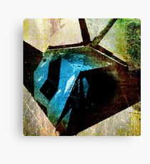 A STEALTH BOMBER, DIGITIZED Canvas Print