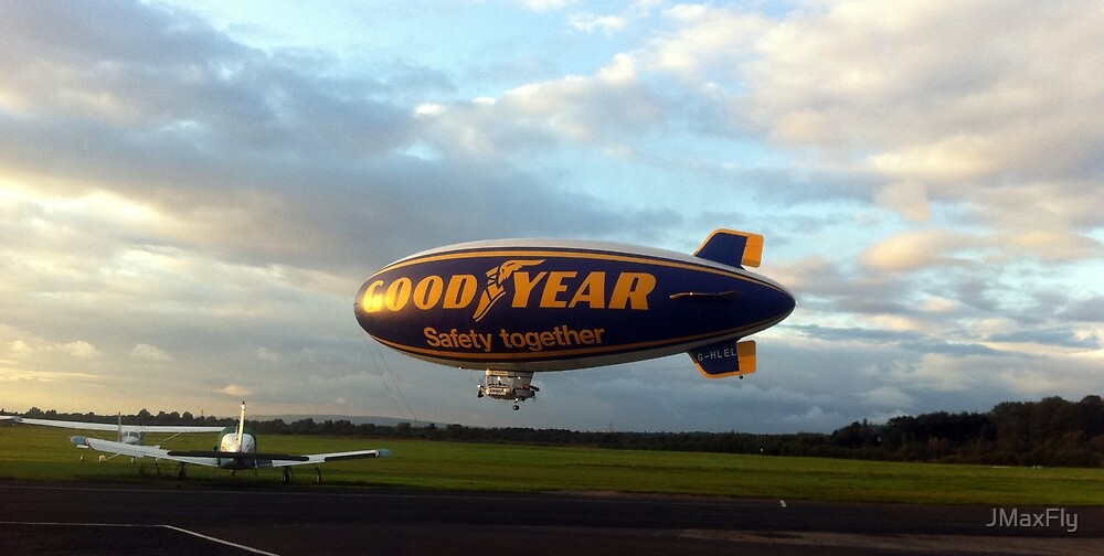 Good Year Airship by JMaxFly