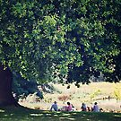 Lunch Under The Trees by oddoutlet