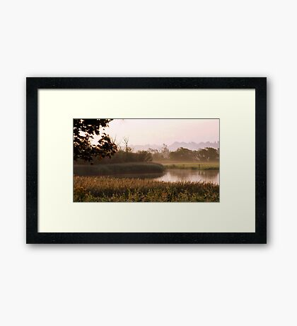 A Country Morning Framed Print
