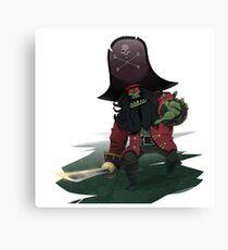 Zombie Pirate LeChuck Canvas Print