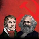 HEGEL AND MARX, communist philosophers by Clifford Hayes