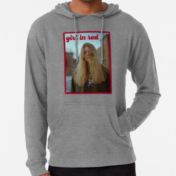 girl in red  Lightweight Hoodie