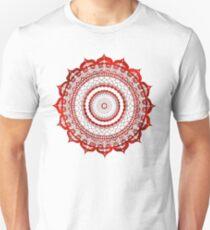 omulyana red mandala Unisex T-Shirt