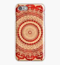 omulyana red mandala iPhone Case/Skin