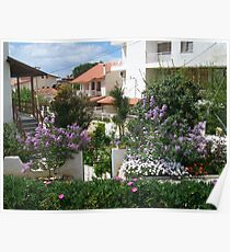 Village garden, Izmir, Turkey Poster