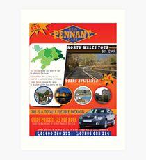 CEIR - PENNANT - CARS Flyer Art Print