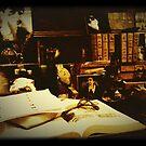 Vintage Gothic Desk  by SunShineInMySky