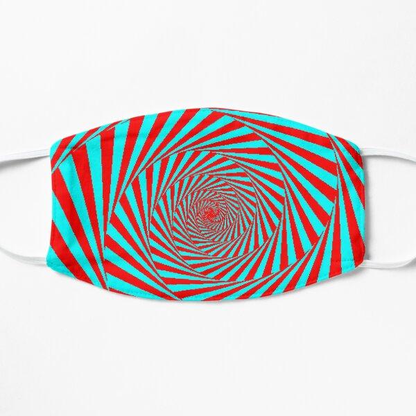 Visual Illusion, Psychedelic Art Flat Mask