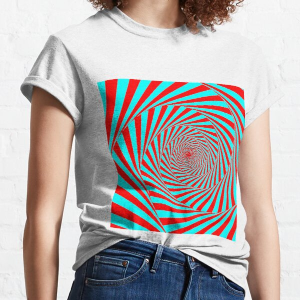 Visual Illusion, Psychedelic Art Classic T-Shirt
