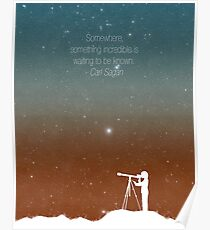 Through the Telescope Poster
