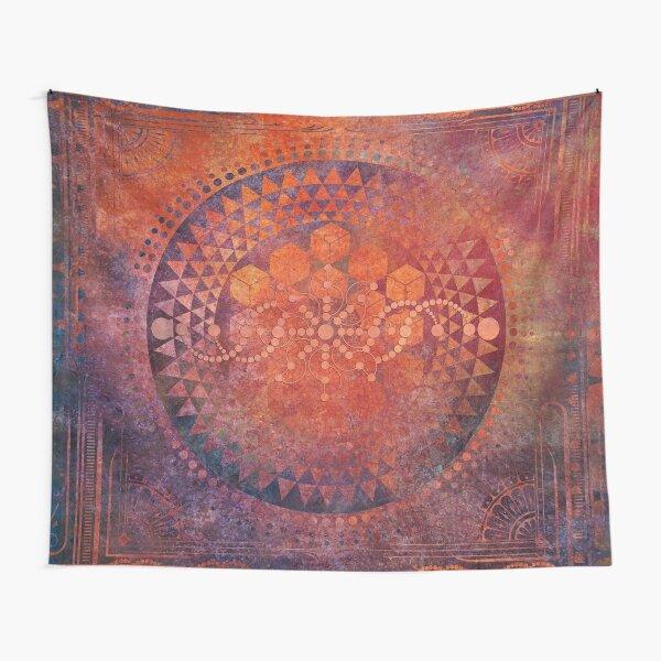Desert Crop Circle Tapestry