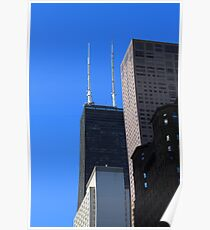 Chicago Towers Poster