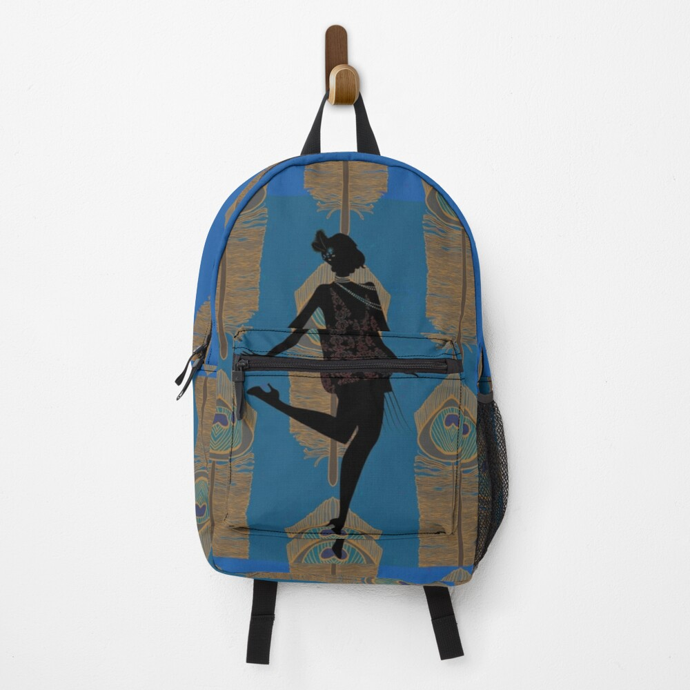 Peacock Flapper Backpack