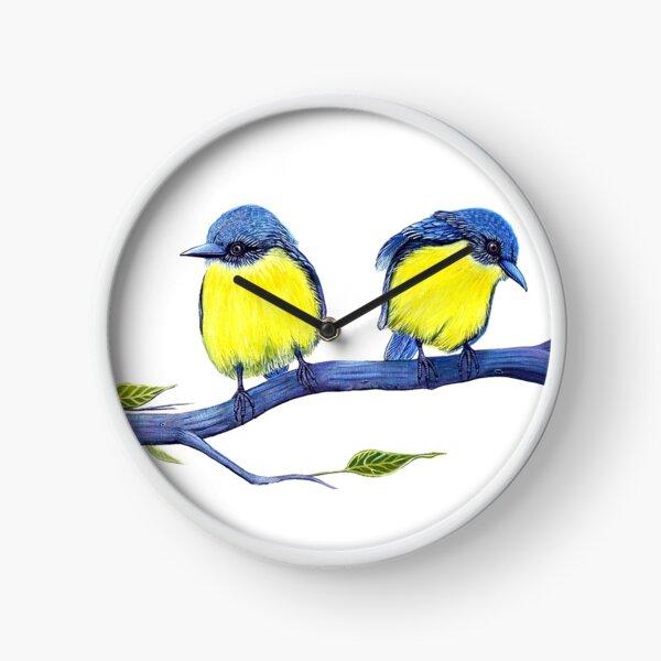 Little Yellow Robins Clock