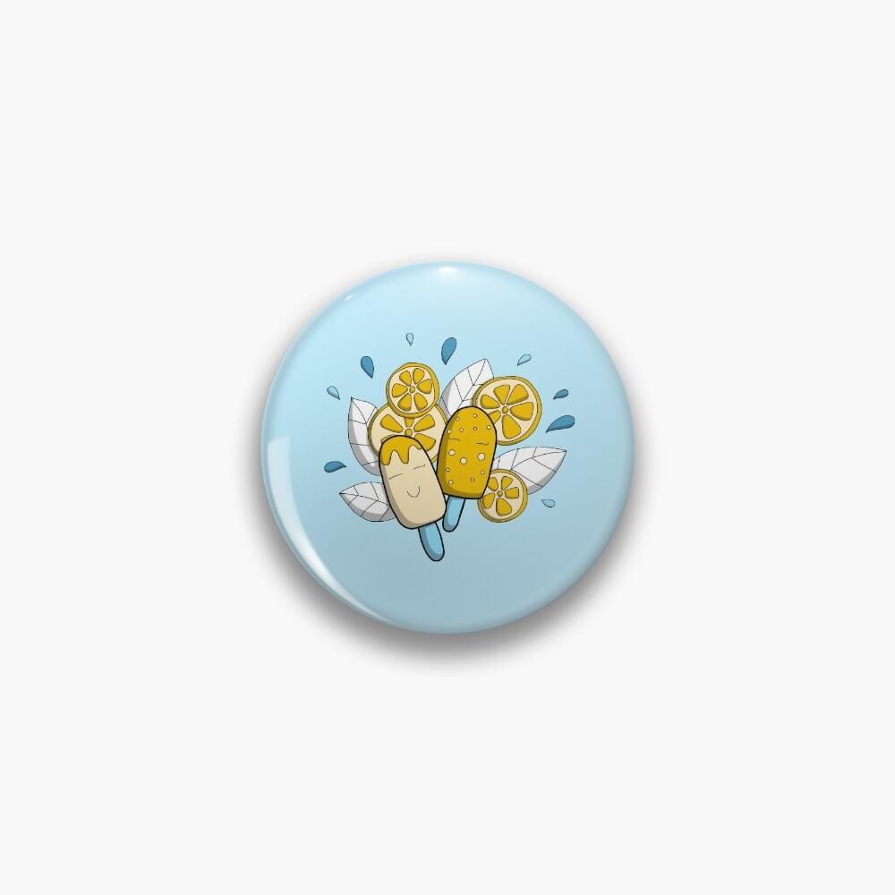 Badge «Fraicheur de l'été - Glace doodle»
