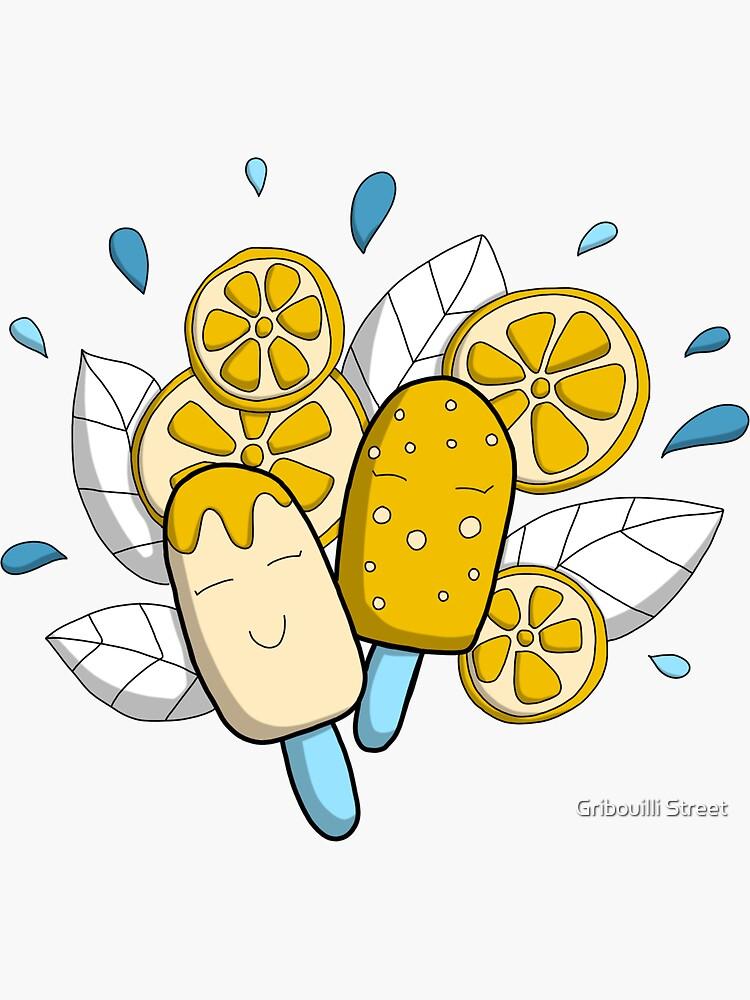 «Fraicheur de l'été - Glace doodle» par GribouillStreet