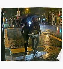 Walking in the Rain Poster