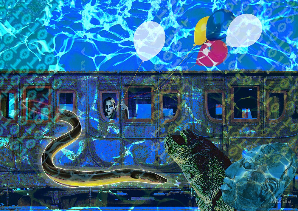 20.000 Leagues Under the Sea by Maraia