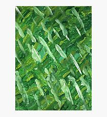 GREEN STRING BEANS Photographic Print