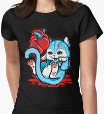 Cat Got Your Heart? Women's Fitted T-Shirt