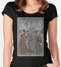 Fujidana no sanbijin 001 Women's Fitted Scoop T-Shirt