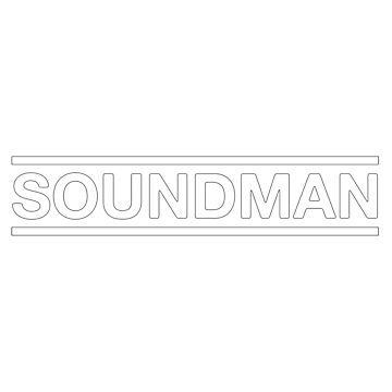 Soundman White Useful Design by monafar