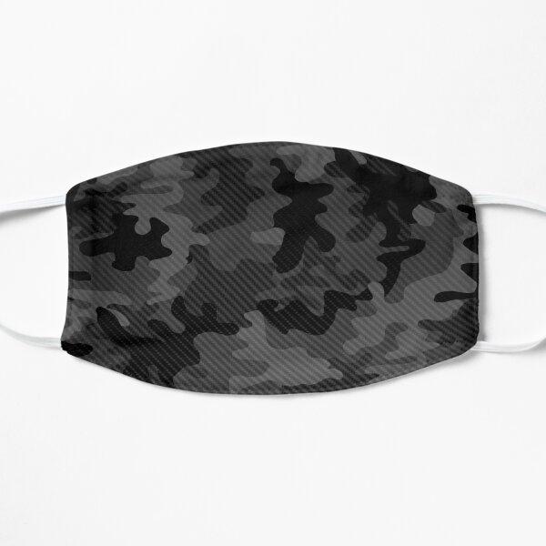 Dessin de camouflage en carbone 6 Masque sans plis