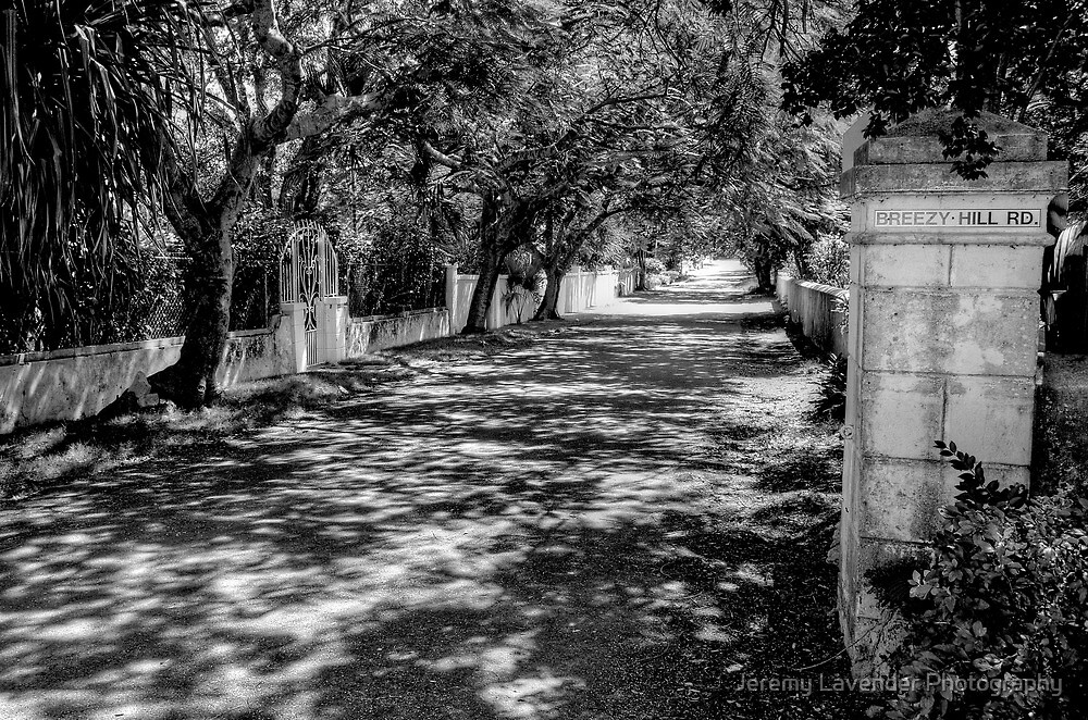 Breezy Hill Road Entrance in Nassau, The Bahamas by Jeremy Lavender Photography