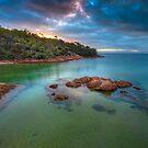 Freycinet Sunset, Tasmania by Jim Lovell