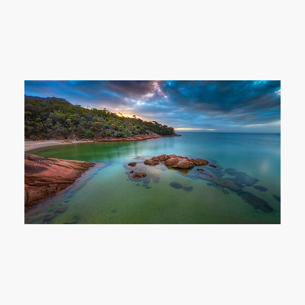 Freycinet Sunset, Tasmania Photographic Print