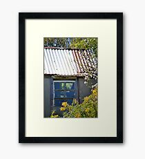 Old garden shed Framed Print