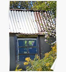 Old garden shed Poster