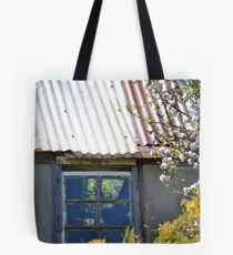 Old garden shed Tote Bag
