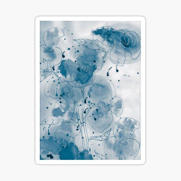 Summer blues Sticker